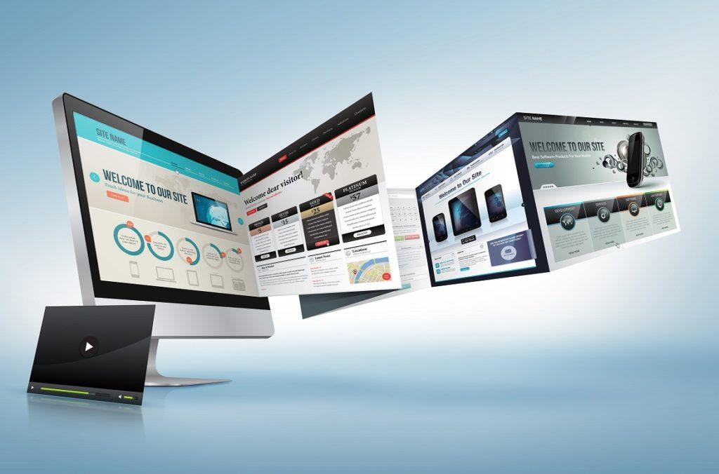 красивый дизайн на сайт